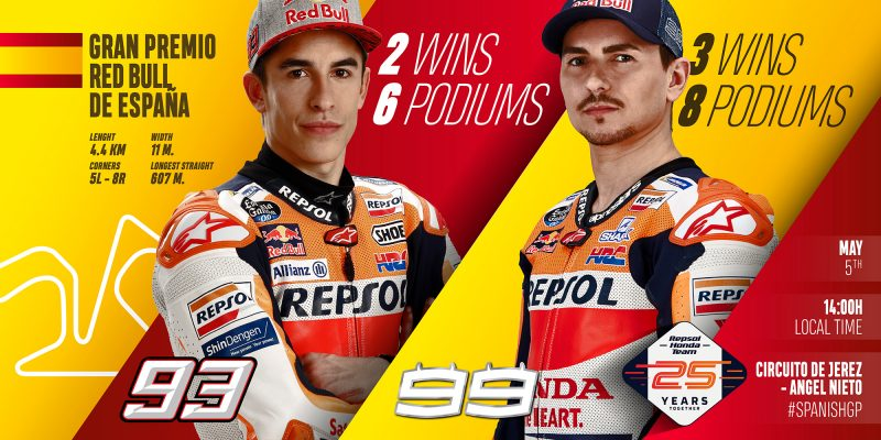 Jerez awaits resurgent Repsol Honda Team