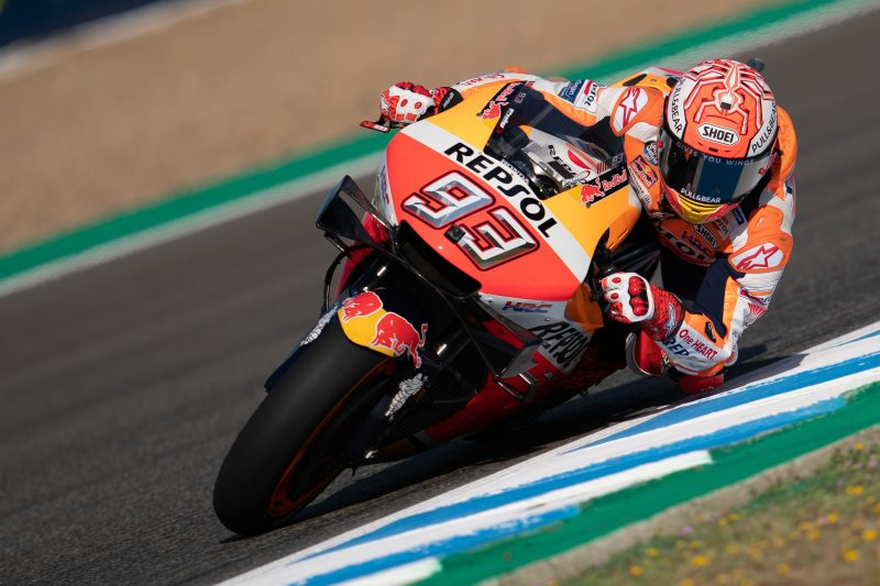 Marquez and Lorenzo immediately fast in Jerez