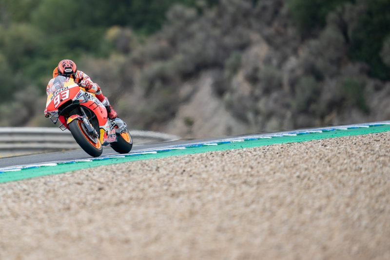 Busy and productive day of testing for Repsol Honda Team