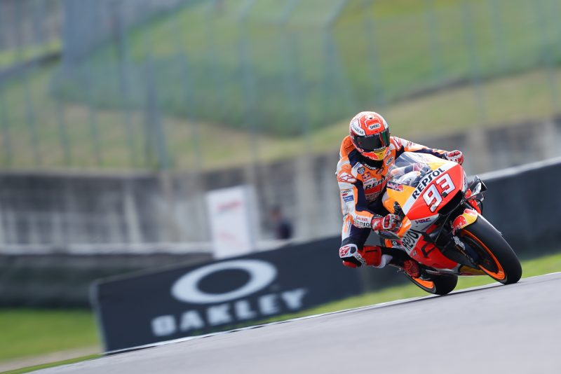 Marquez sixth as sunny Italian GP commences