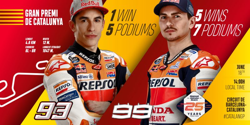 Repsol Honda Team hunt home glory in Barcelona