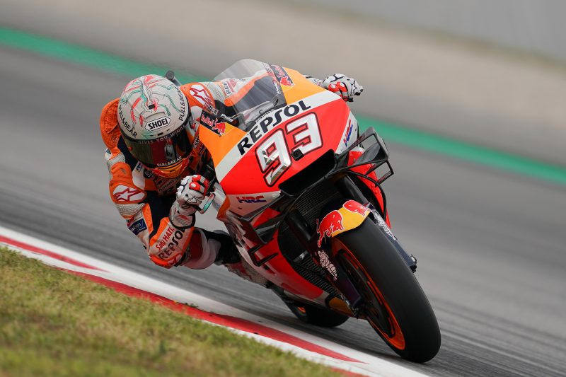Repsol Honda Team on pace in tight Catalan GP practice