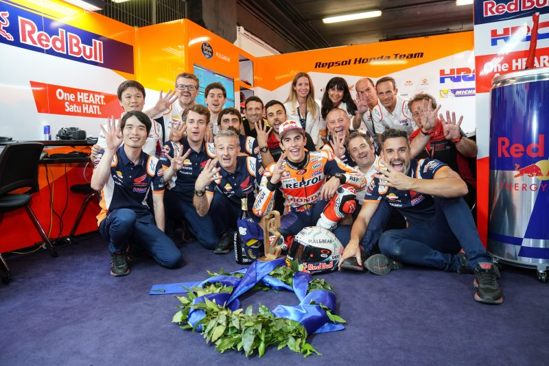 Marquez takes dominating home victory in Barcelona