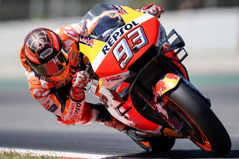 Busy Catalunya Test for Repsol Honda Team duo