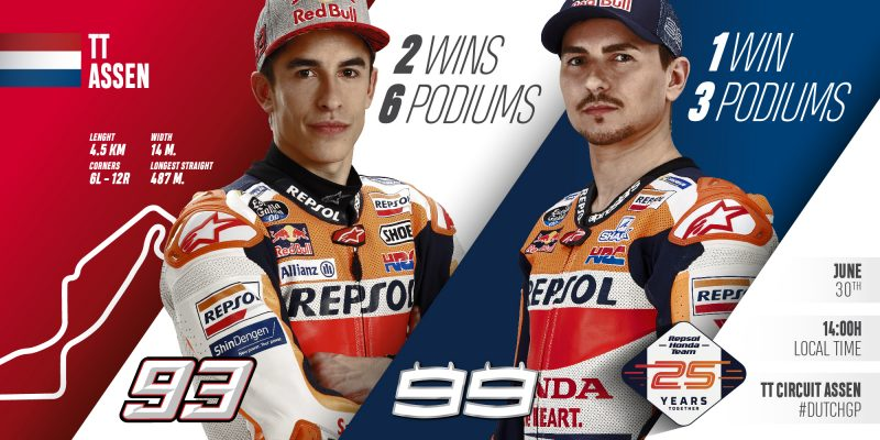 Assen awaits the Repsol Honda Team