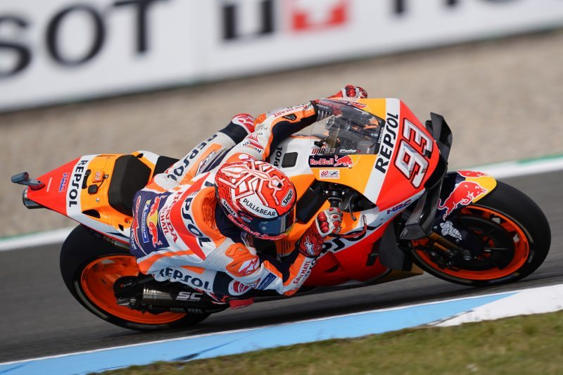 Mixed fortunes on Friday at Assen for the Repsol Honda Team