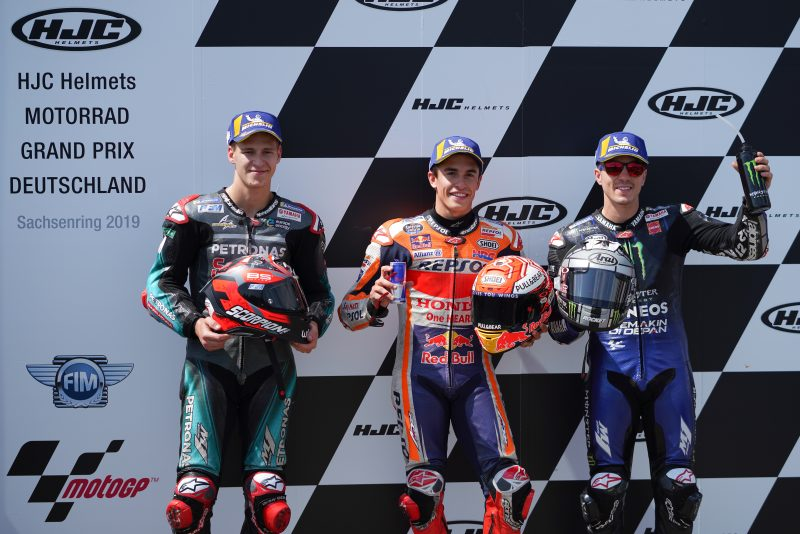 Ten out of ten: Marquez takes German GP pole with lap record