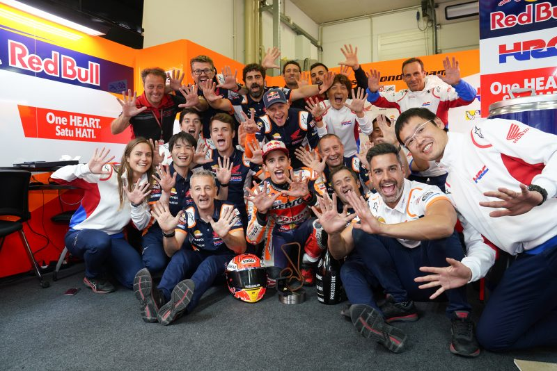 King of the Ring – Marquez makes it a perfect ten in Germany