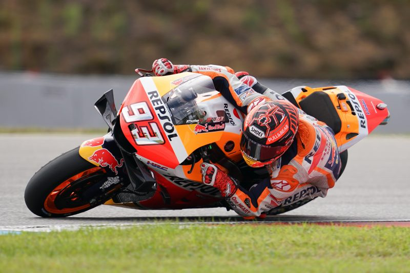Marquez makes the most of truncated Monday test in Brno