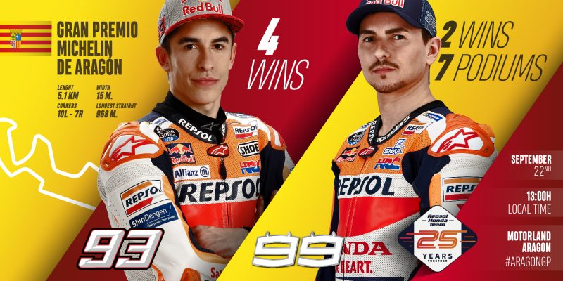 Repsol Honda Team look to maximize results in back-to-back races