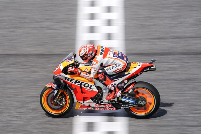 Marquez to launch title challenge from Buriram front row