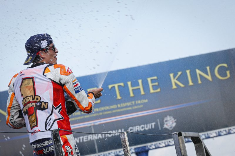 "Marc Marquez: ""It has been an almost perfect year"""