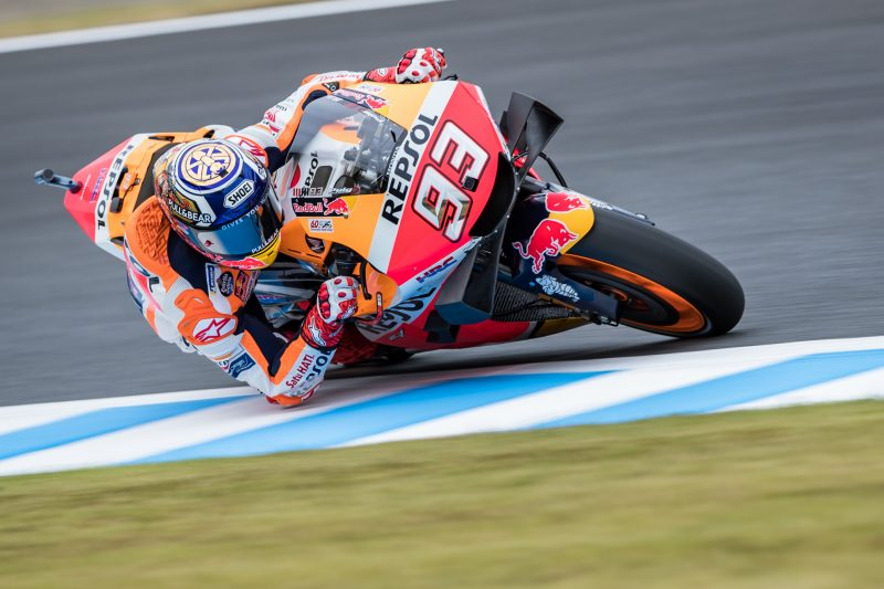 Positive progress for the Repsol Honda Team on Friday in Motegi
