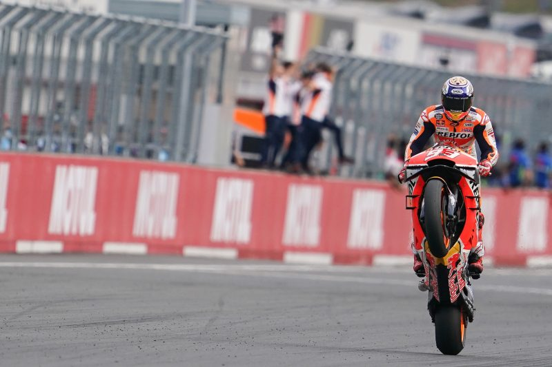 Unstoppable Marquez cruises to Motegi win to equal Doohan as most successful Honda rider