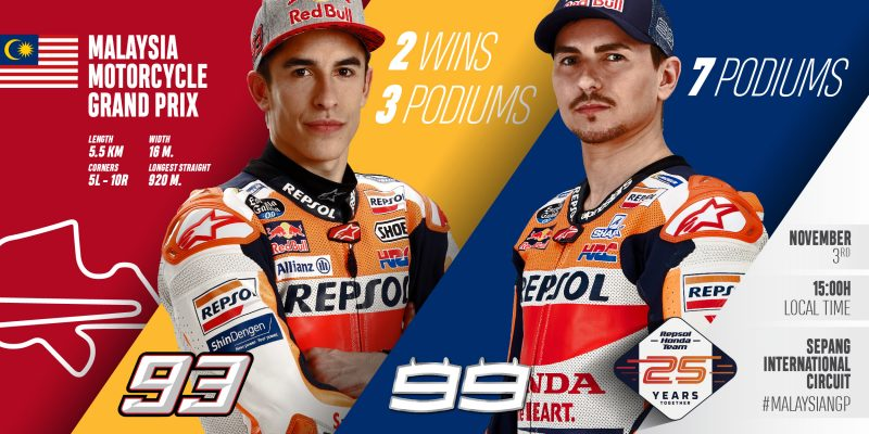 Penultimate push as Repsol Honda Team chase Team Championship