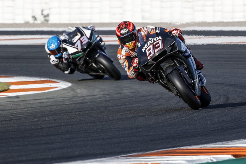 Repsol Honda Team pleased with results at productive Valencia Test