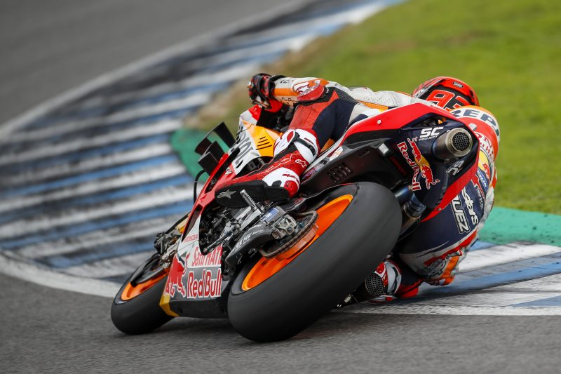Rain ends Jerez Test early for Repsol Honda Team