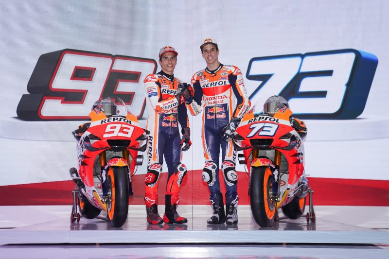 Repsol Honda Team launch 2020 challenge in Indonesia