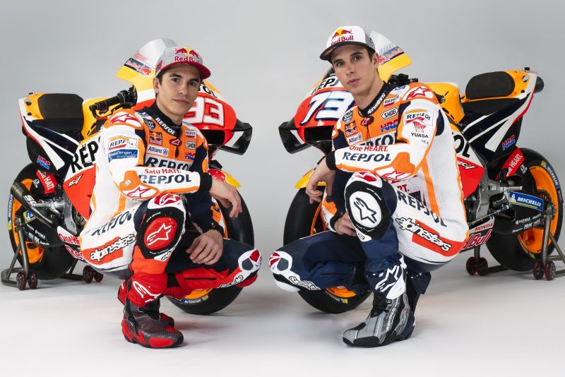 Repsol Honda Team's 2020 colours