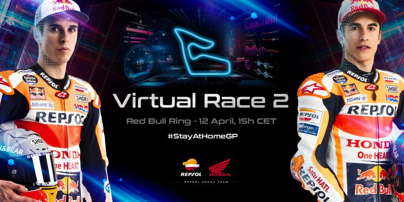 Game on! Repsol Honda Team powered up for Red Bull Ring Virtual GP