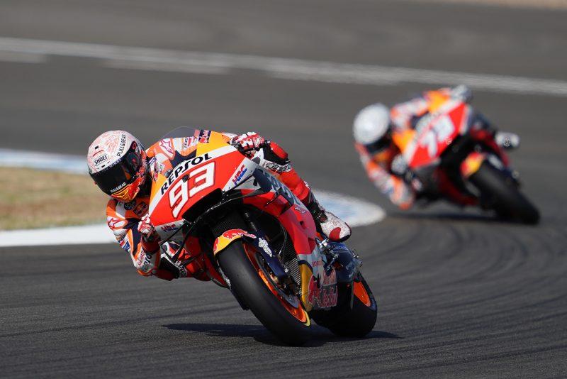 Repsol Honda Team straight into their rhythm in Jerez
