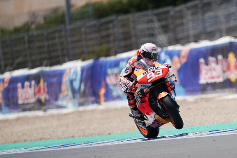 Marc's astonishing comeback without reward as Alex makes MotoGP debut in Jerez