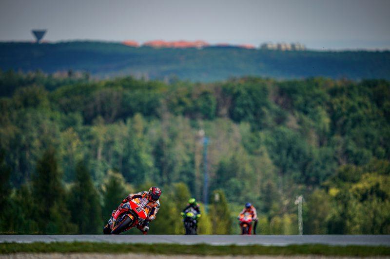 Testing day in Brno for Repsol Honda Team