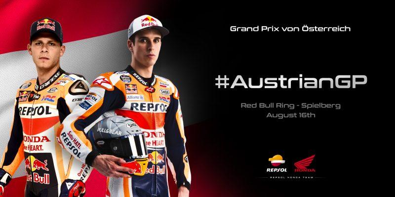 Red Bull Ring calling the Repsol Honda Team