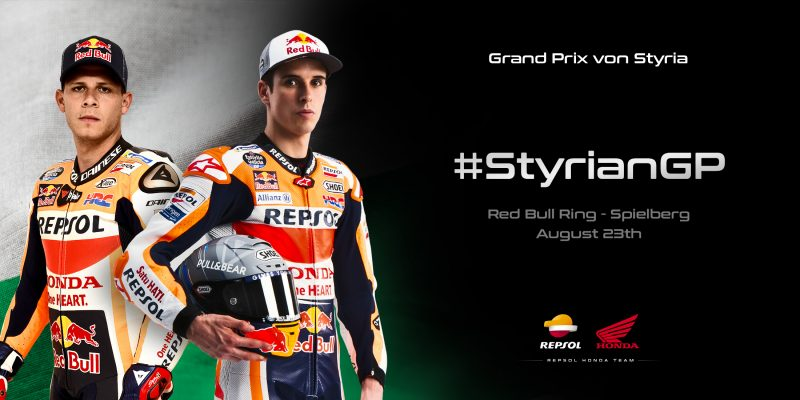 Repsol Honda Team return to the Red Bull Ring