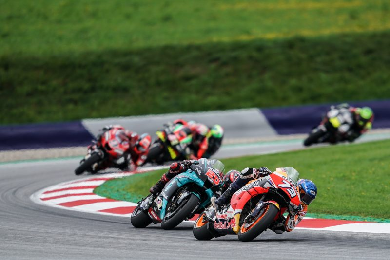 Points elude the Repsol Honda Team in red flagged Styrian GP