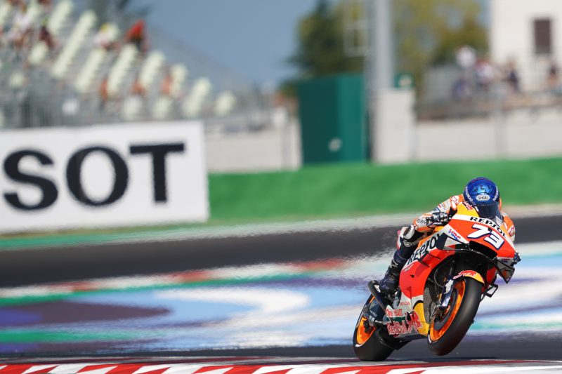 Alex Marquez finds a second in qualifying