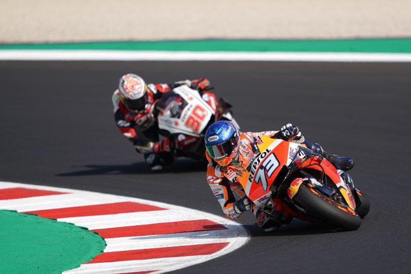 Charging Alex Marquez races to best finish yet