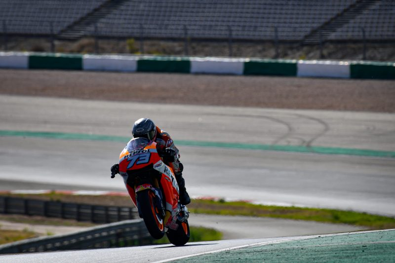 Marquez and Bradl complete first day in Portimao