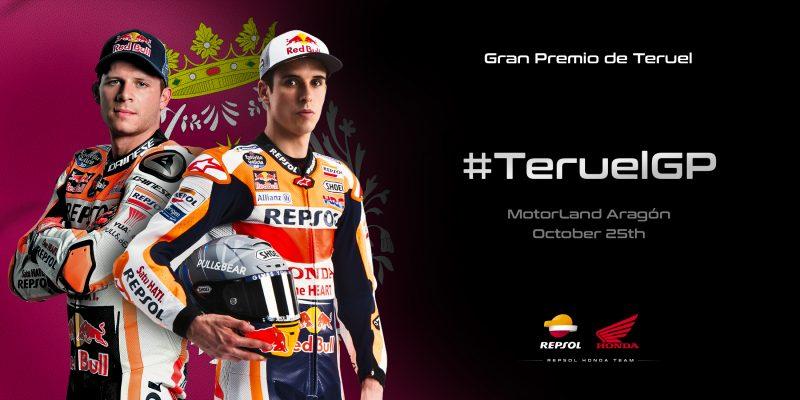 Repsol Honda Team back again for the Teruel GP