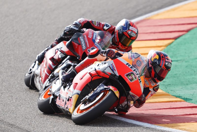 Bradl takes points as Marquez challenges for third podium