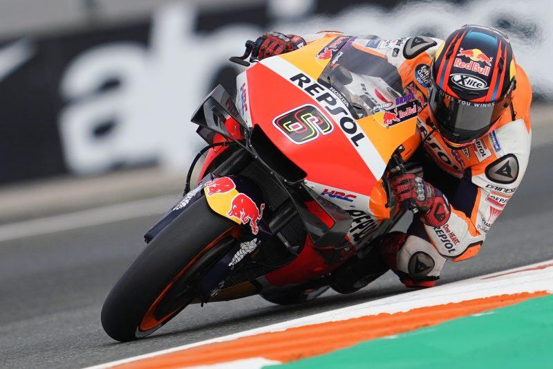 Times tumble for the Repsol Honda Team in Valencia