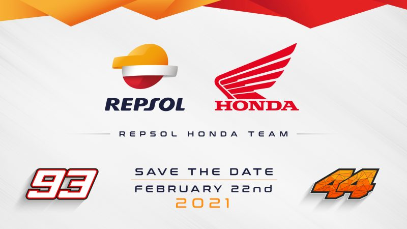 Save the Date – Repsol Honda Team 2021 Launch