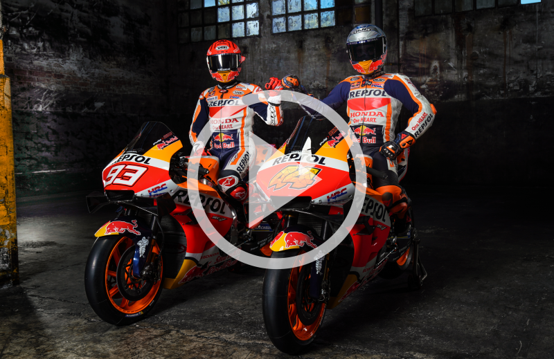 Ready for the challenge – Repsol Honda Team launch 2021 campaign