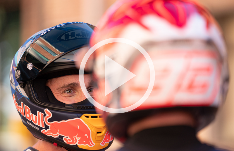 Behind the Scenes of the 2021 Repsol Honda Team Launch