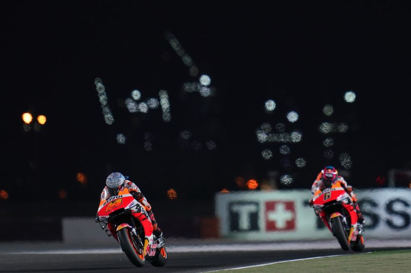 Repsol Honda Team walk away with points after trying Doha weekend