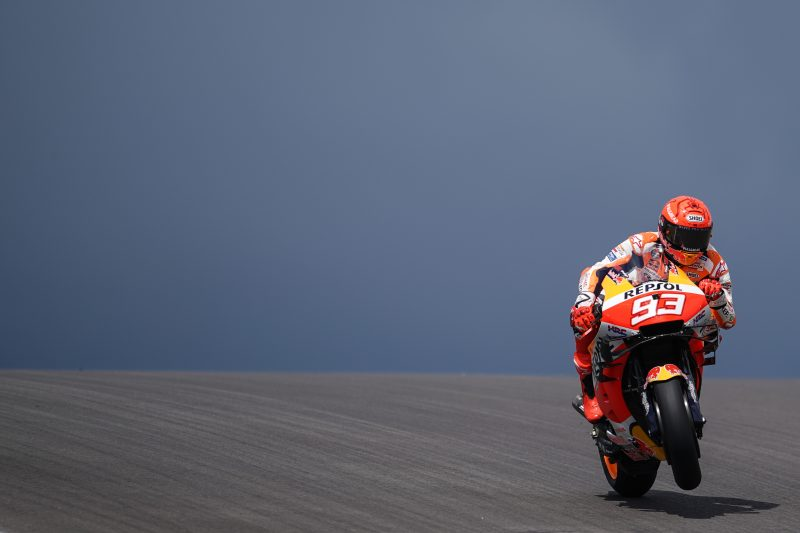 Marc Marquez gets back up to speed in Portugal