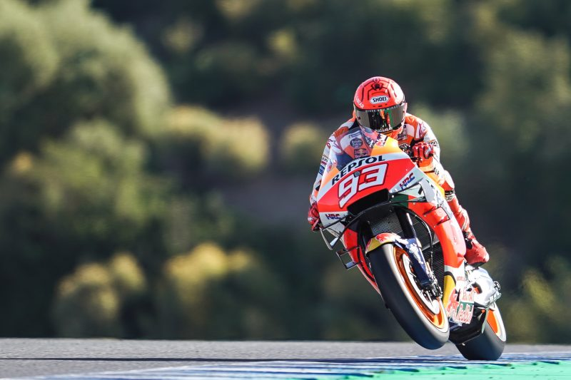 Falls limit the potential of Espargaro and Marquez in Jerez