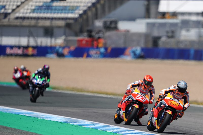 Top ten finishes for Marquez and Espargaro after bruising weekend