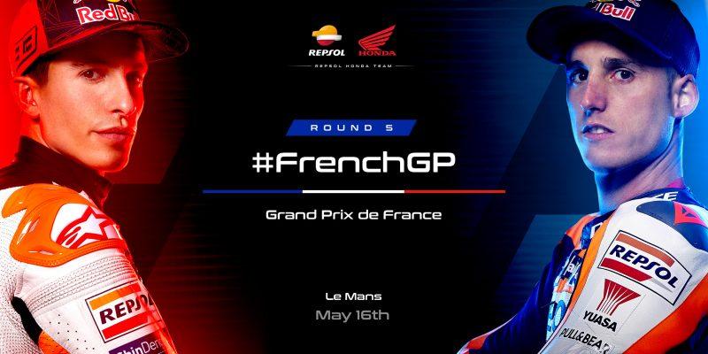 Repsol Honda Team primed for French GP