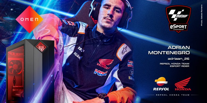 OMEN join Repsol Honda Team for real-world and virtual MotoGP campaigns