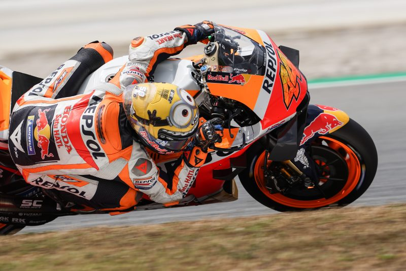 Trying day as Espargaro's potential goes unrewarded