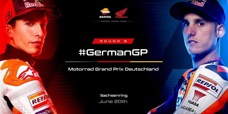 Sachsenring the next stop for the Repsol Honda Team