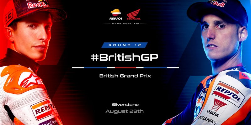 Next stop Silverstone for the Repsol Honda Team