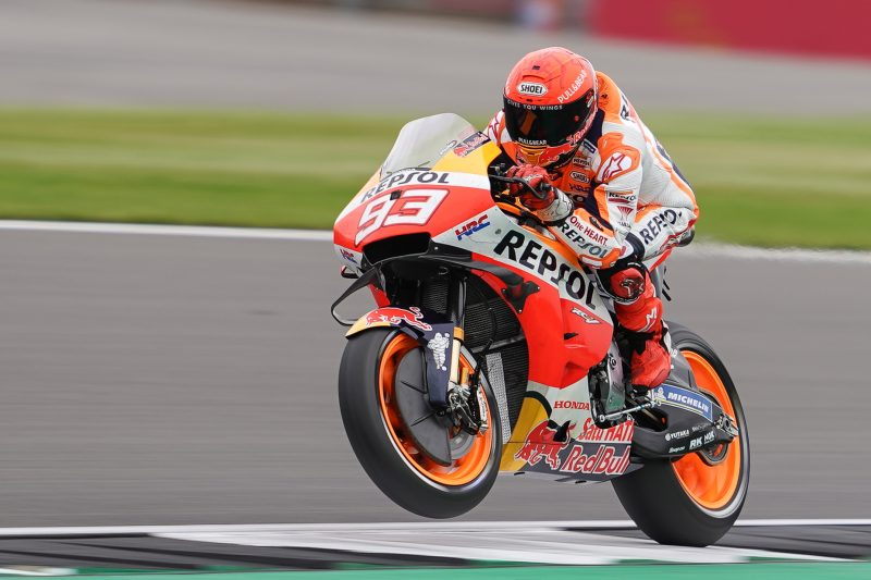 On form Friday for the Repsol Honda Team in Silverstone