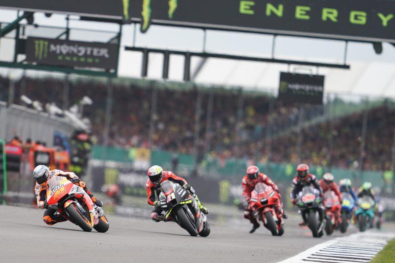Espargaro leads British Grand Prix and takes season best result